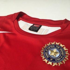 Nike Dri Fit India Cricket Red Jersey Shirt